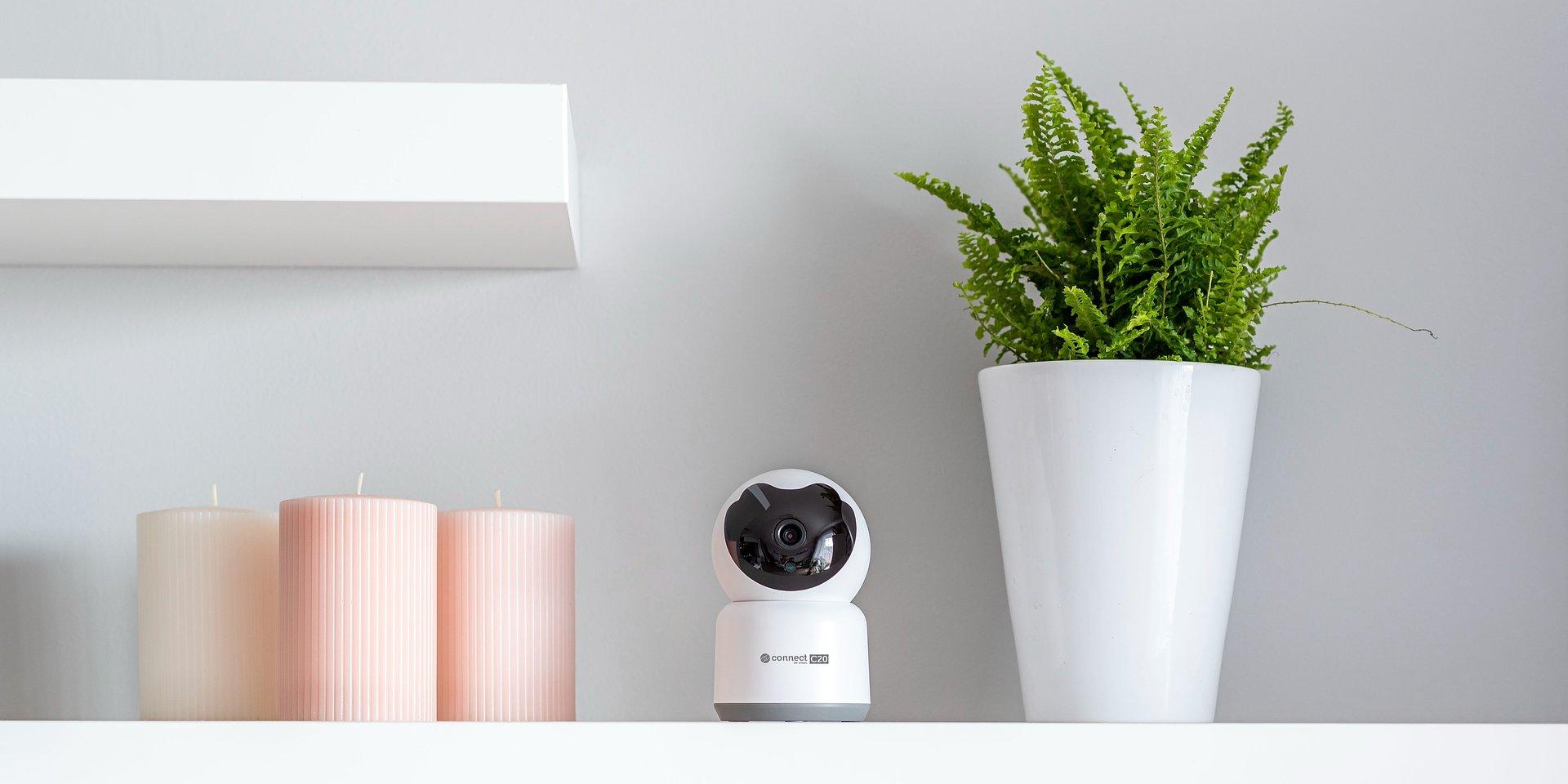 Inteligentne kamery Wi-Fi z serii Kruger&Matz Connect