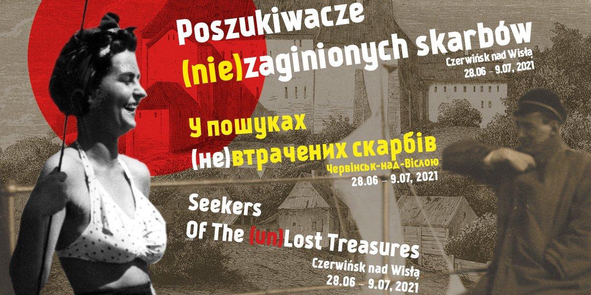 Poszukiwacze (nie)zaginionych skarbów w Czerwińsku nad Wisłą