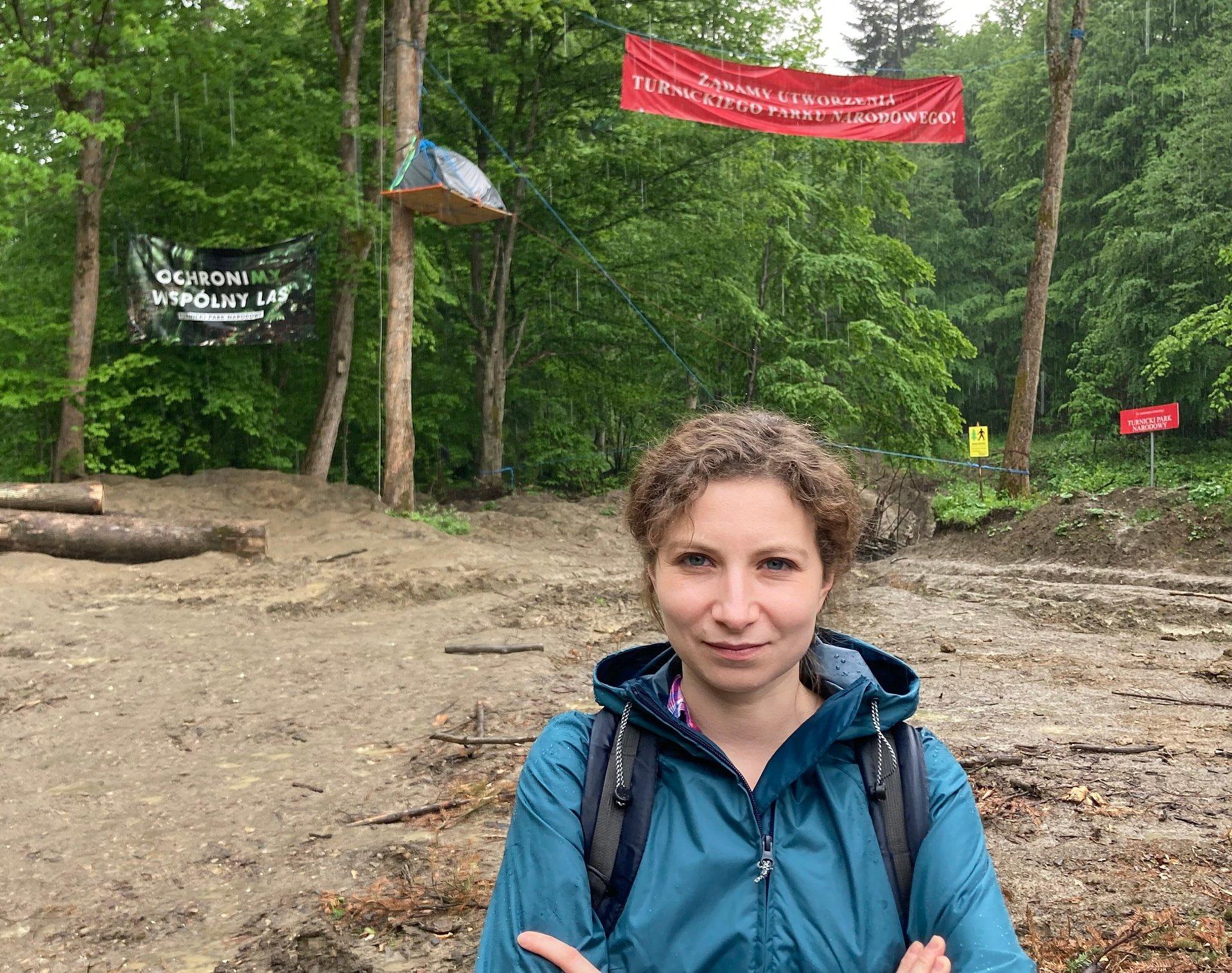 Turnicki Park Narodowy - posłanka Gosek-Popiołek rozmawia z lokalnymi władzami
