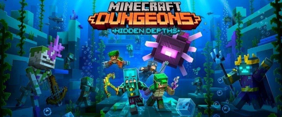 """Um Ano de """"Minecraft Dungeons"""""""