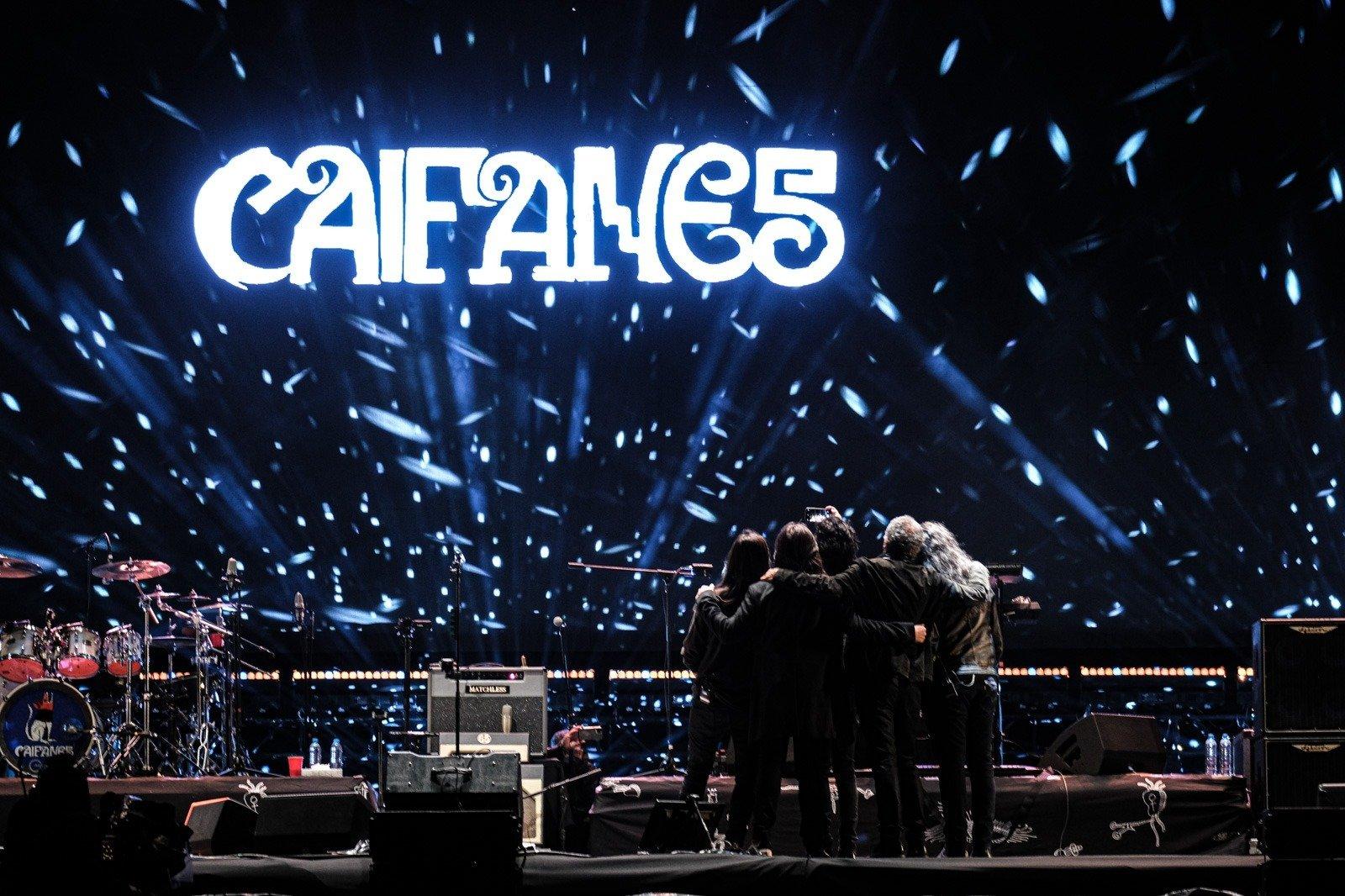 Caifanes, nueva fecha de su concierto vía streaming