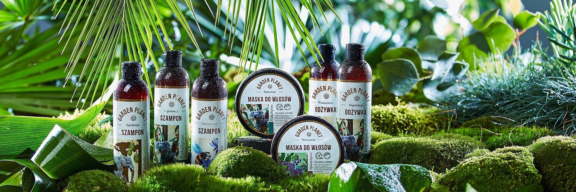 Garden Planet, nowa naturalna marka do pielęgnacji włosów od Kontigo