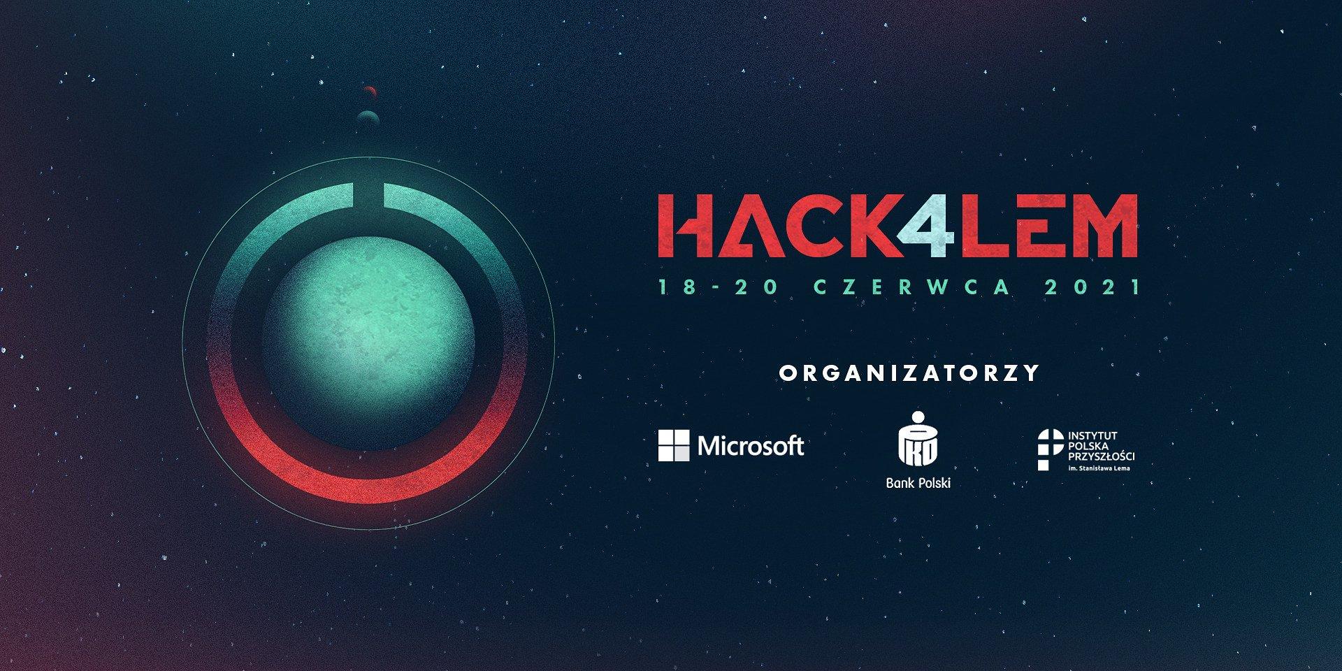 Stwórz przyszłość, którą widział Stanisław Lem. Dołącz do maratonu programowania Hack4Lem.