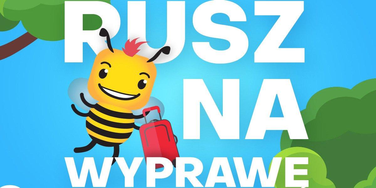 Rusz na wyprawę i wygraj pszczółkowe nagrody!