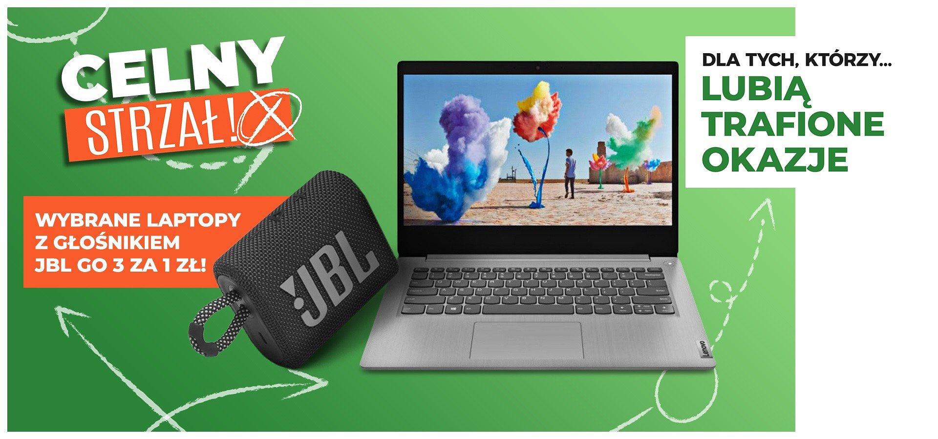Wymień laptopa na nowy i odbierz głośnik JBL za 1 zł!