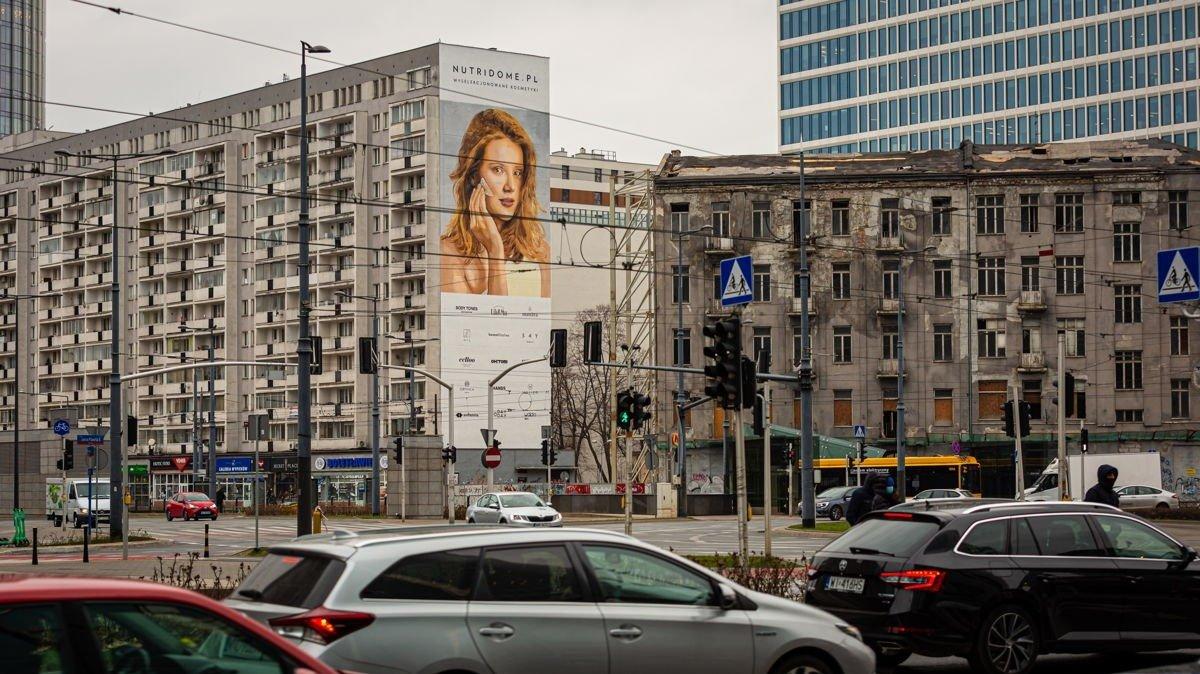 Ekologiczny mural Nutridome oczyści miliony m3 powietrza