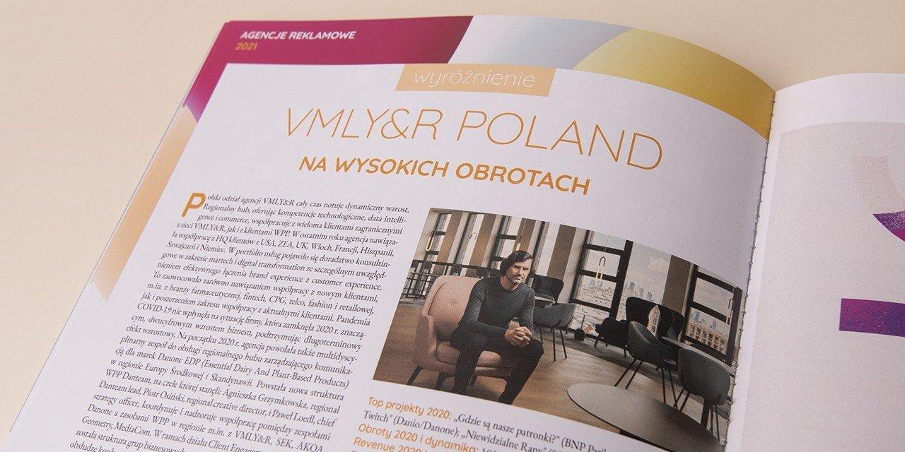 """""""Media Marketing Polska"""": VMLY&R agencją na wysokich obrotach"""