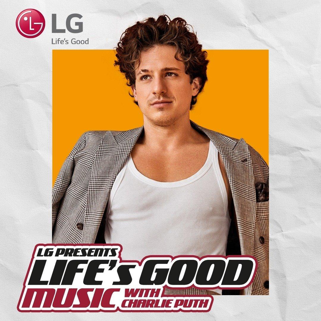Inauguracja kampanii Life's Good 2021 z Charliem Puthem i Jacksonem Tisi