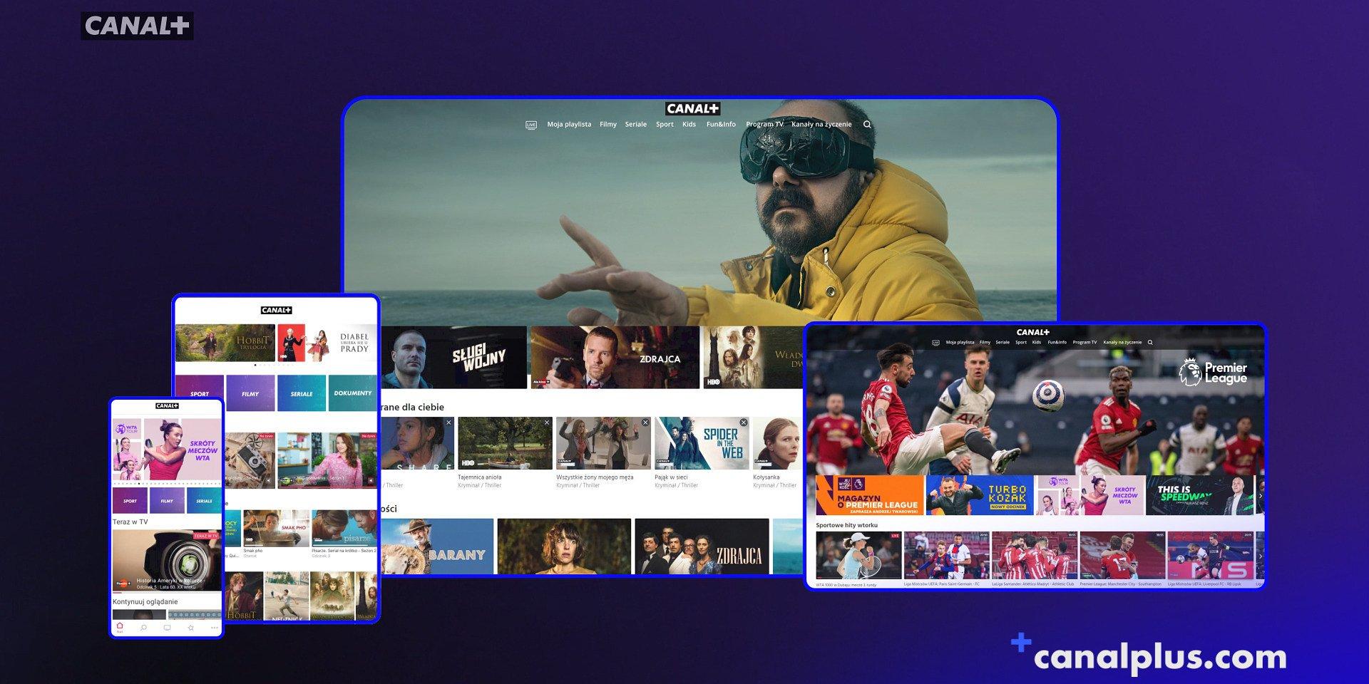 Nowe kanały w serwisie CANAL+ online dla abonentów oferty satelitarnej