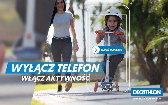 Z okazji Dnia Dziecka Decathlon namawia do odłożenia telefonów i spędzenia czasu razem