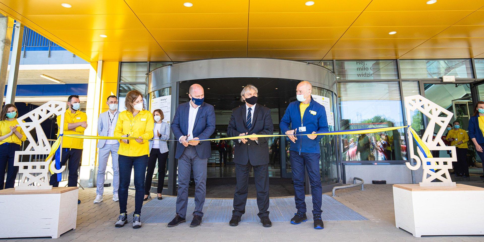 Sklep IKEA w Szczecinie otwarty!