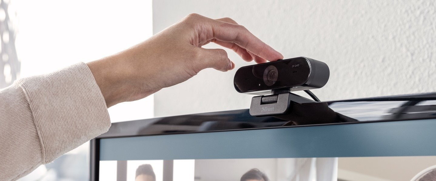 Trust introduces a new 2K webcam for quality video calls around the house and (home) office