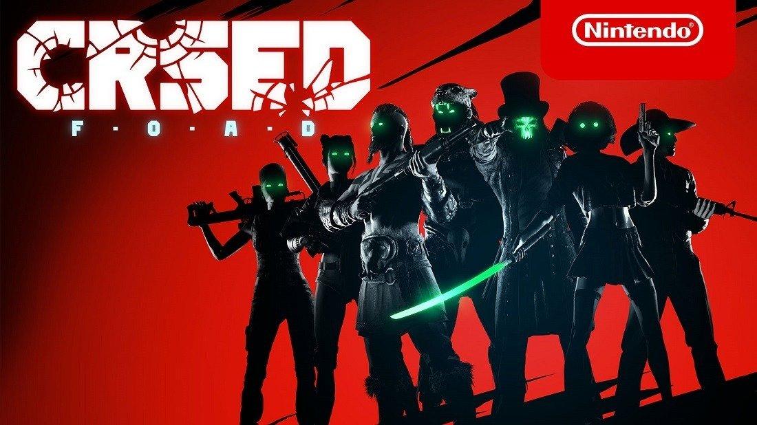 Online lövöldözős játék CRSED: F.O.A.D. jelenleg a Nintendo Switch-en érhető el