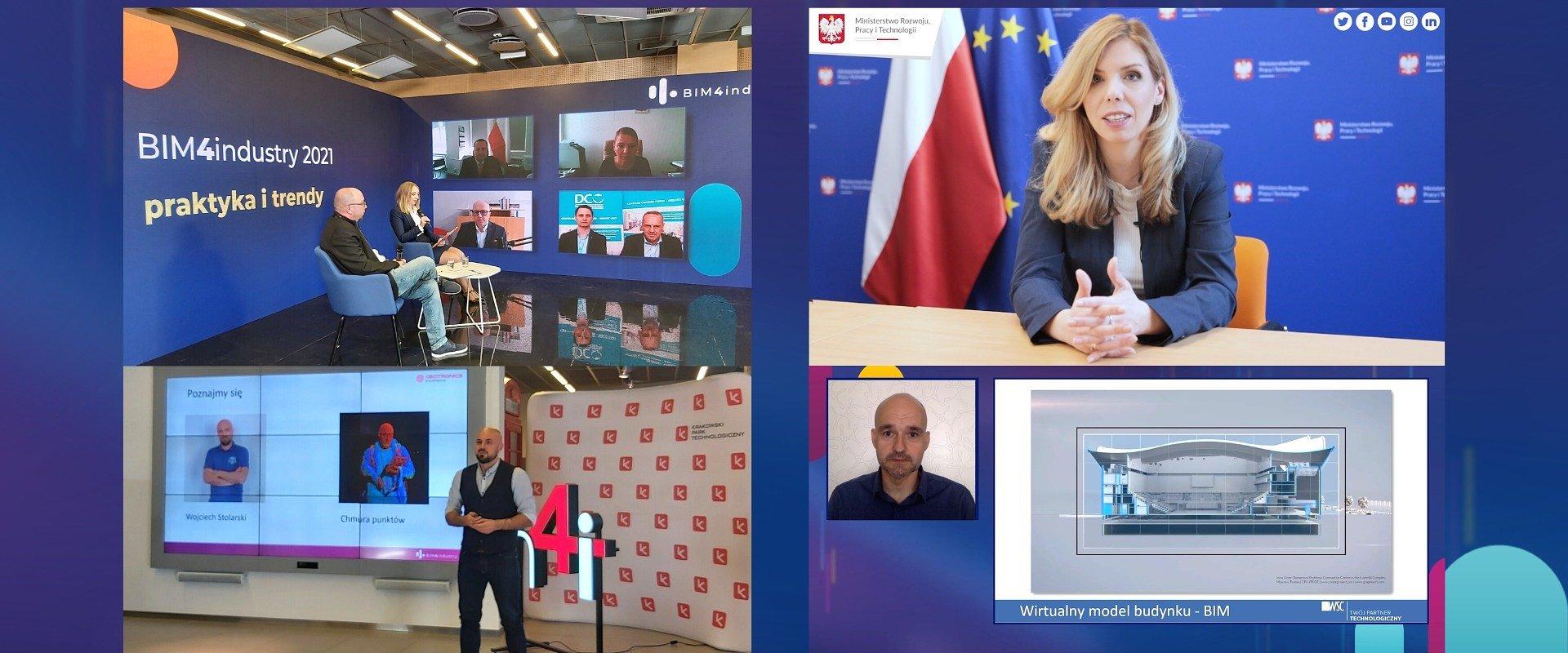 """""""Pierwsze takie wydarzenie w Polsce"""" - podsumowujemy BIM4industry 2021."""