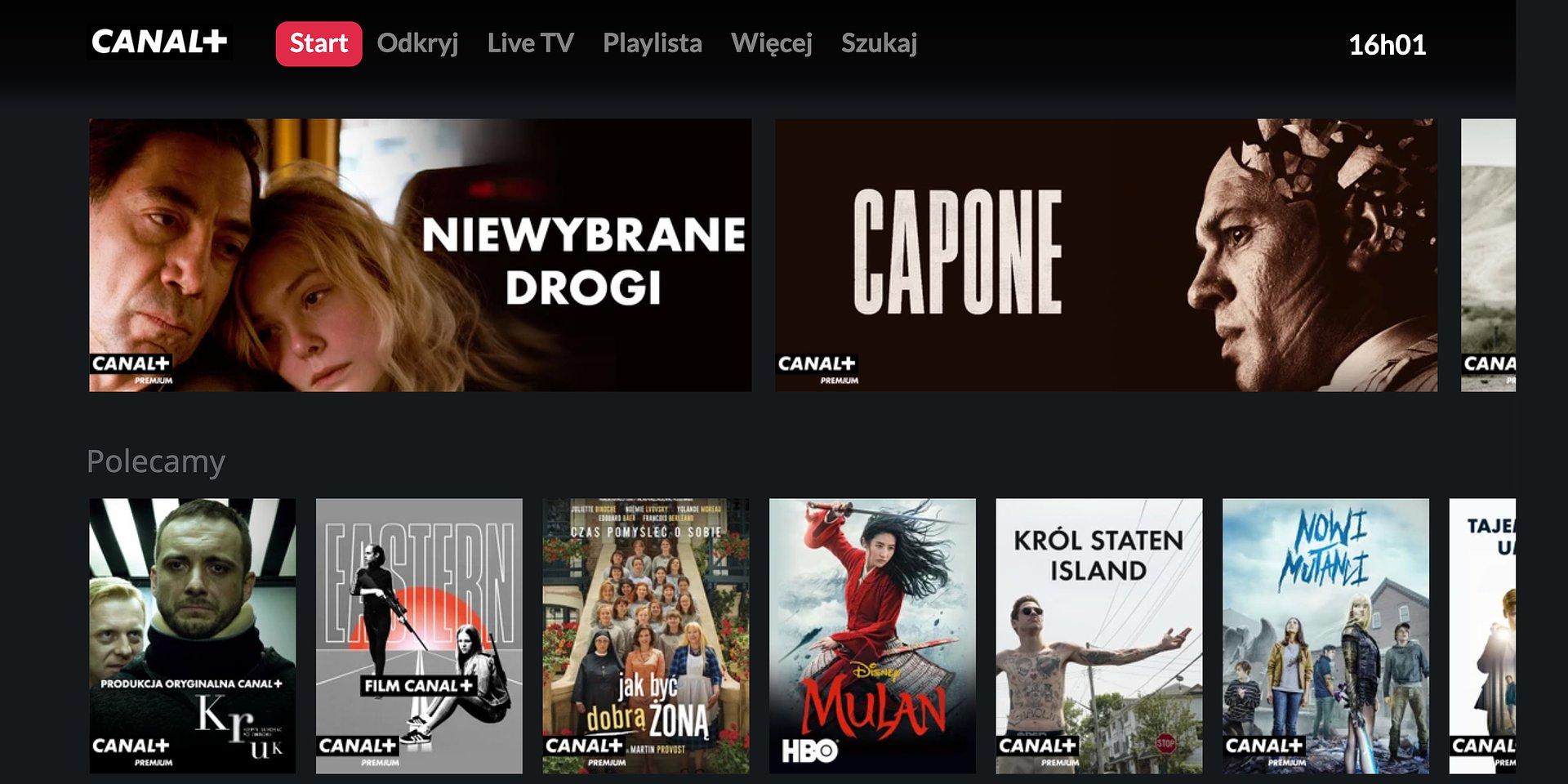 Serwis CANAL+ online od dziś dostępny na telewizorach Samsung Smart TV