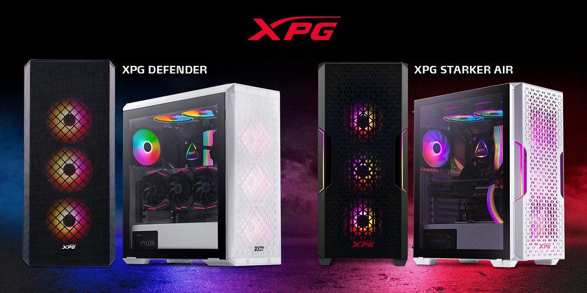 XPG liderem na rynku obudów PC typu Mesh. Nowe obudowy od XPG