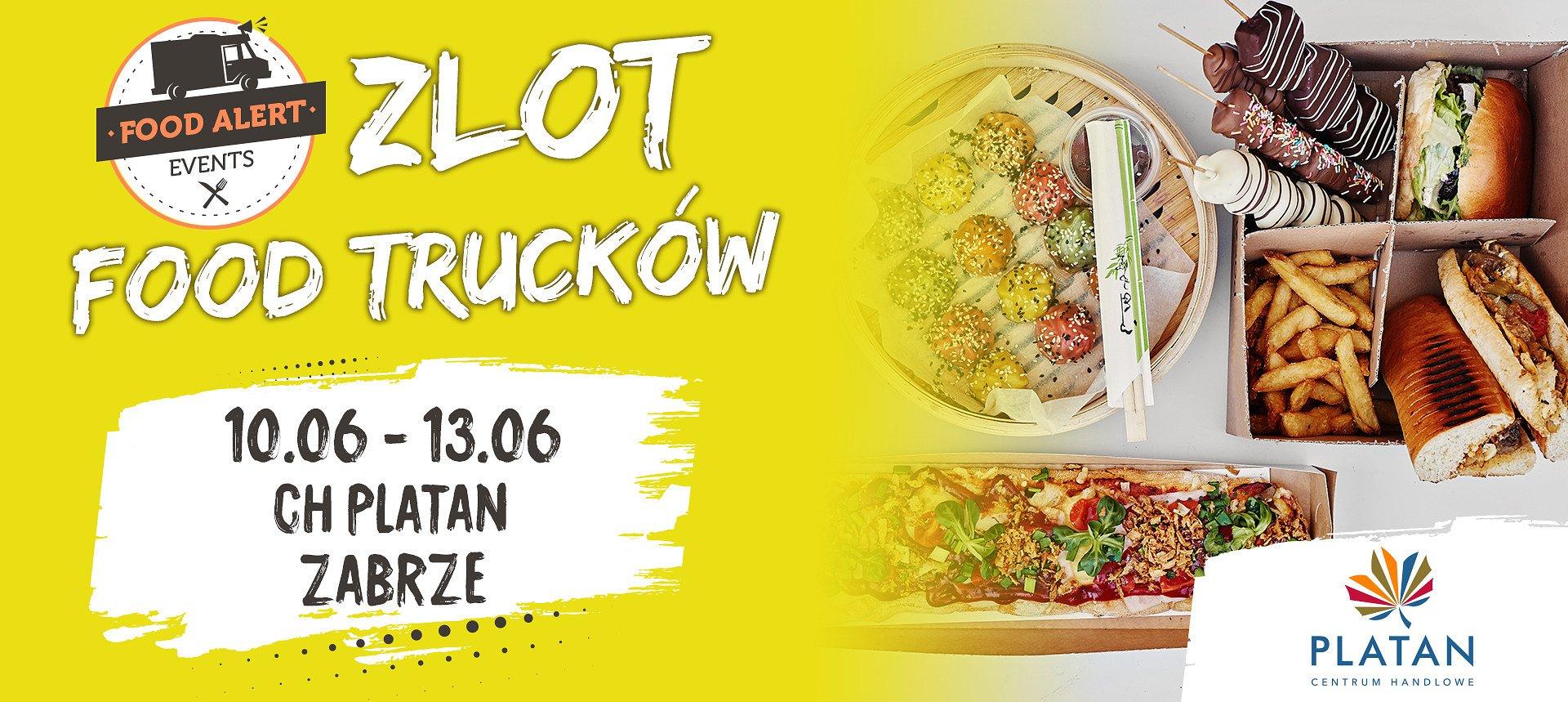 JeMY FEST w Platanie, czyli Zlot Food Trucków w Zabrzu