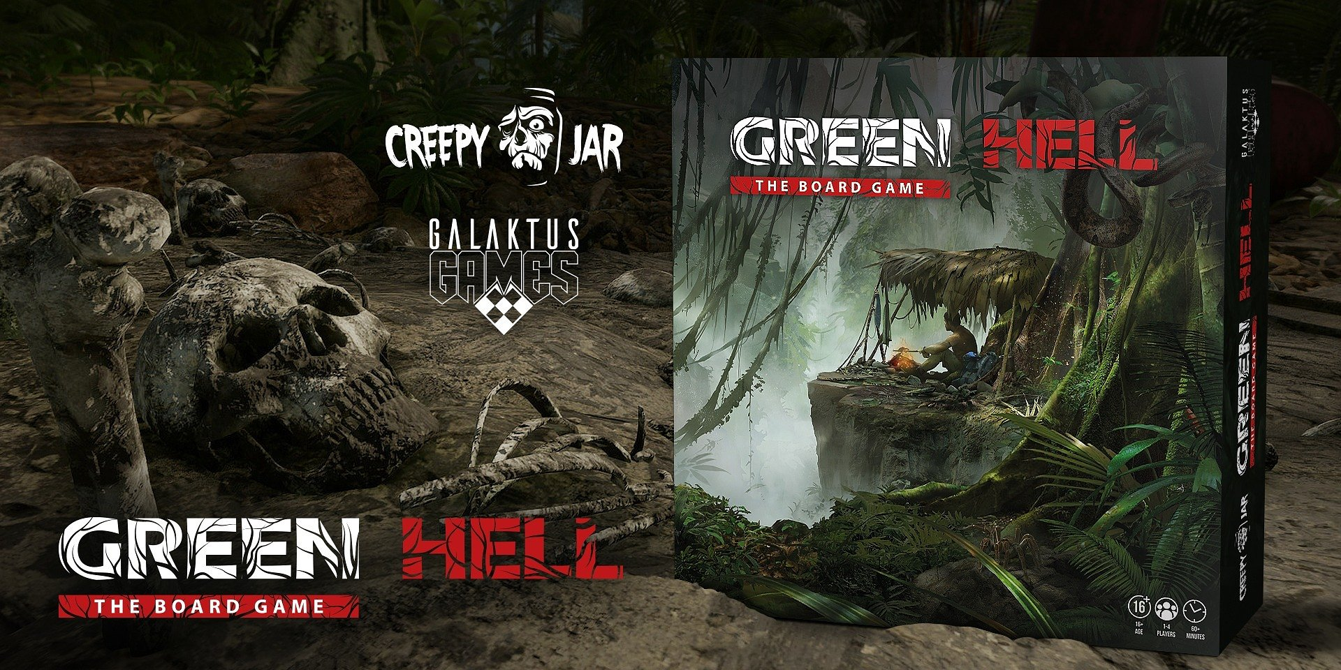Green Hell: The Board Game is nearing its Kickstarter campaign – learn the core rules and setup!