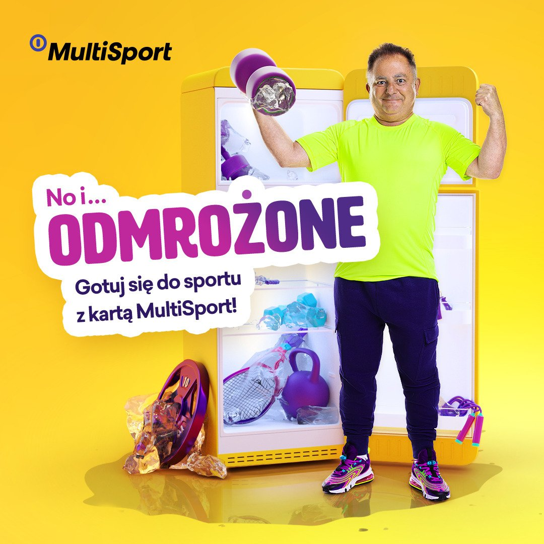 """MultiSport encourages everyone to return to workouts in sports facilities. Robert Makłowicz becomes the ambassador of the """"Get ready for sport"""" campaign"""