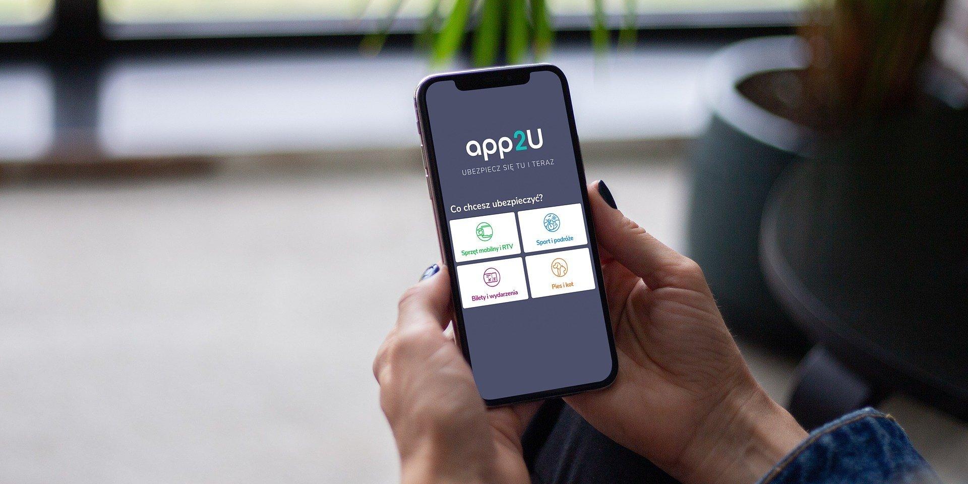 app2U – nowa aplikacja z ubezpieczeniami dla aktywnych