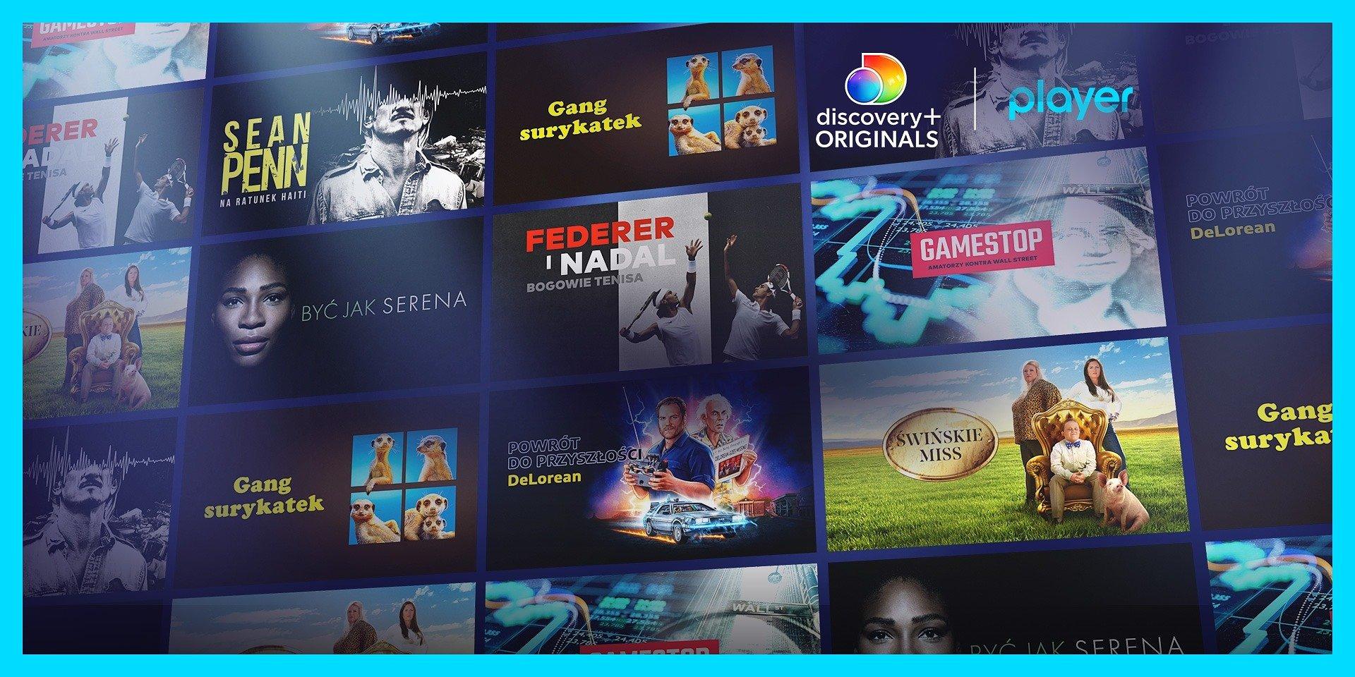 Nowa porcja filmów i serii dokumentalnych discovery+ Originals w Playerze!