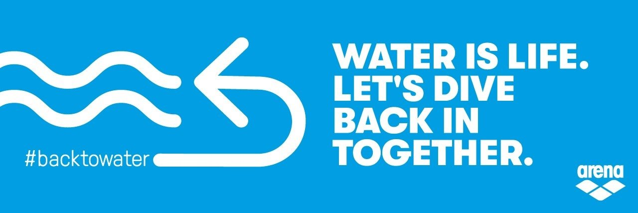 Water is life. Let's dive back in together