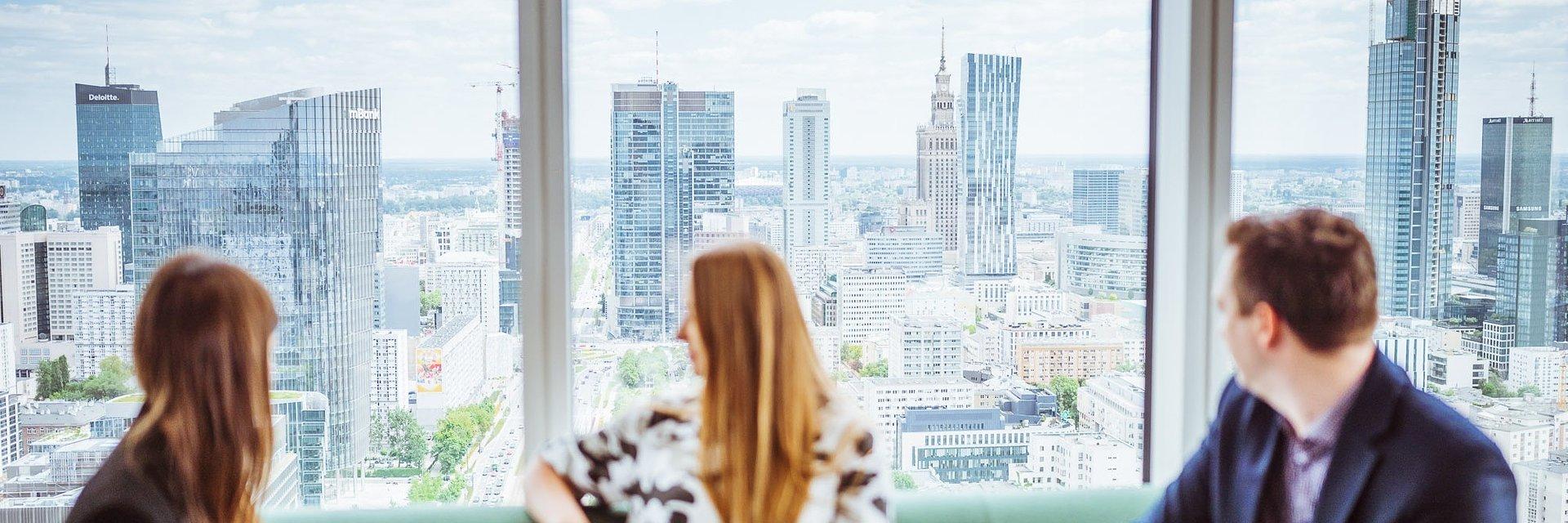 Nowe biuro CBRE w Warsaw UNIT