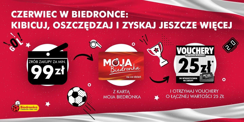 Przygotuj się do EURO z Biedronką: w każdy czerwcowy weekend kupuj i oszczędzaj