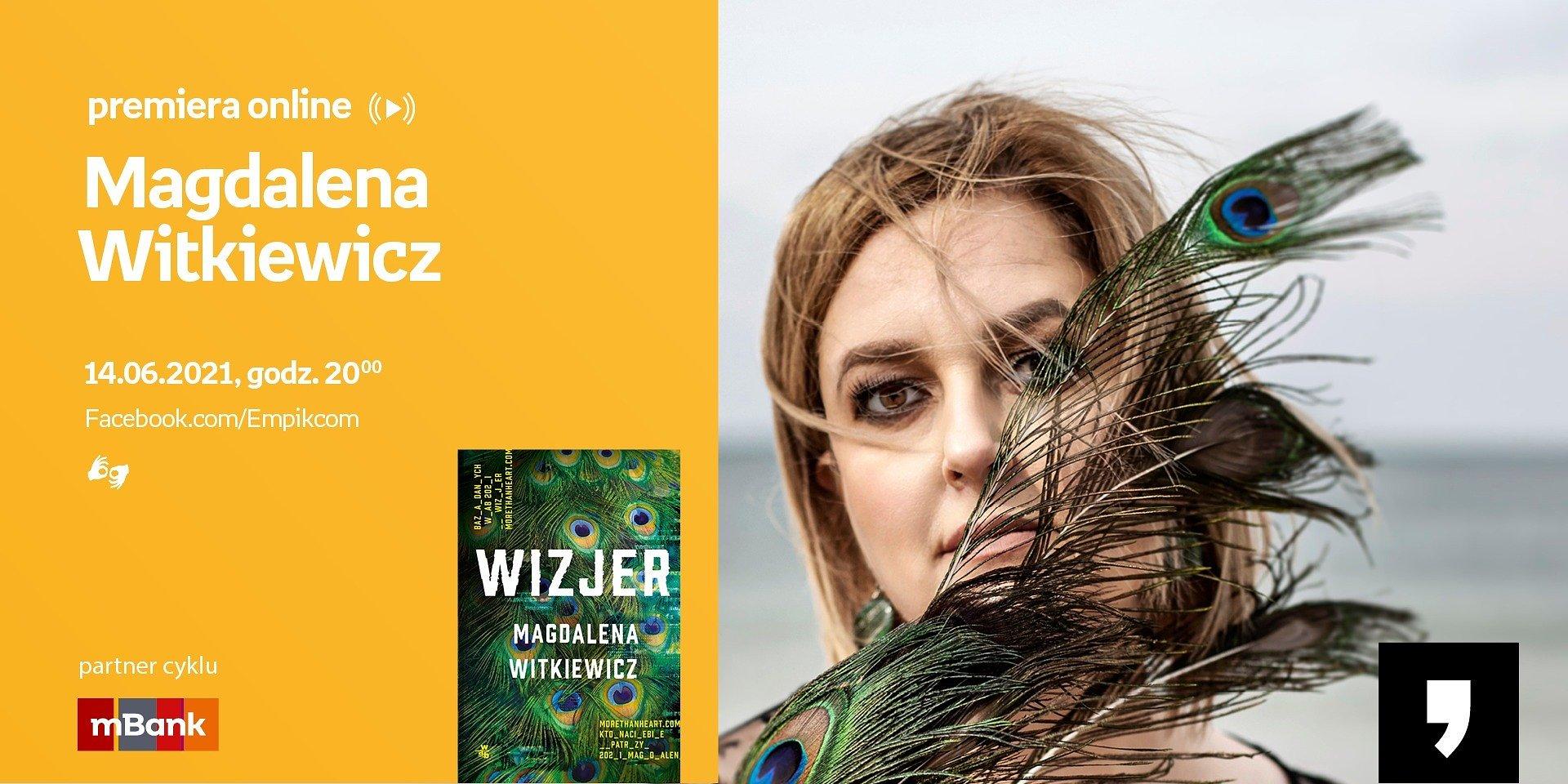 Witkiewicz, Maciąg, Moś i inni – spotkania autorskie online wokół inspirujących letnich premier