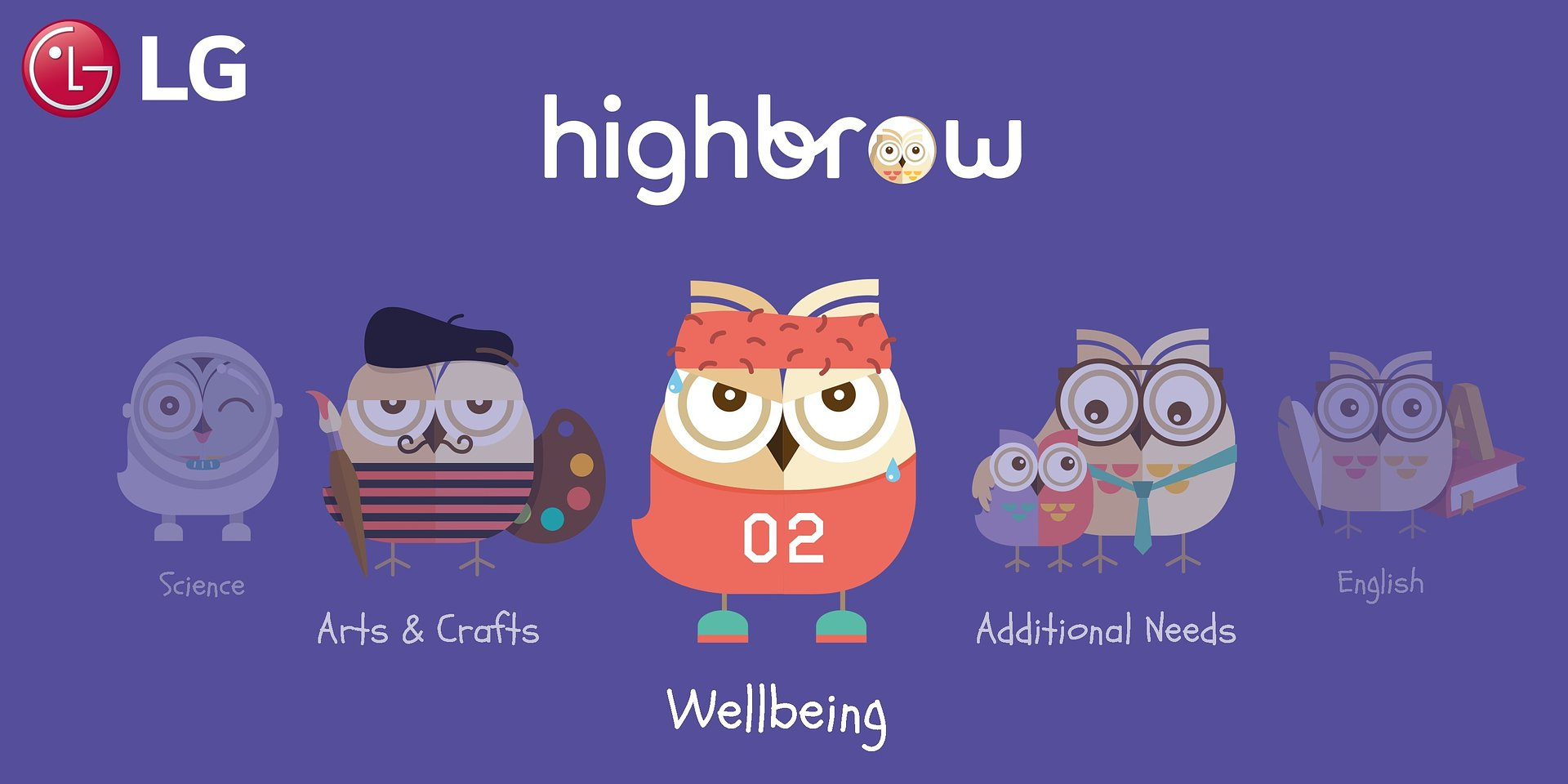 LG i Highbrow dostarczają młodym widzom edukacyjne treści telewizyjne opracowane przez ekspertów