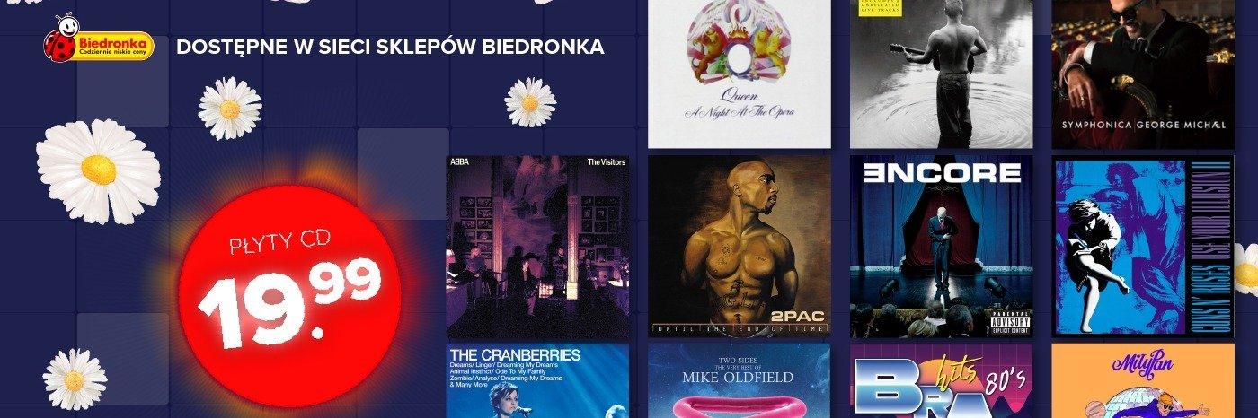 Nowe płyty CD w ofercie sklepów Biedronka