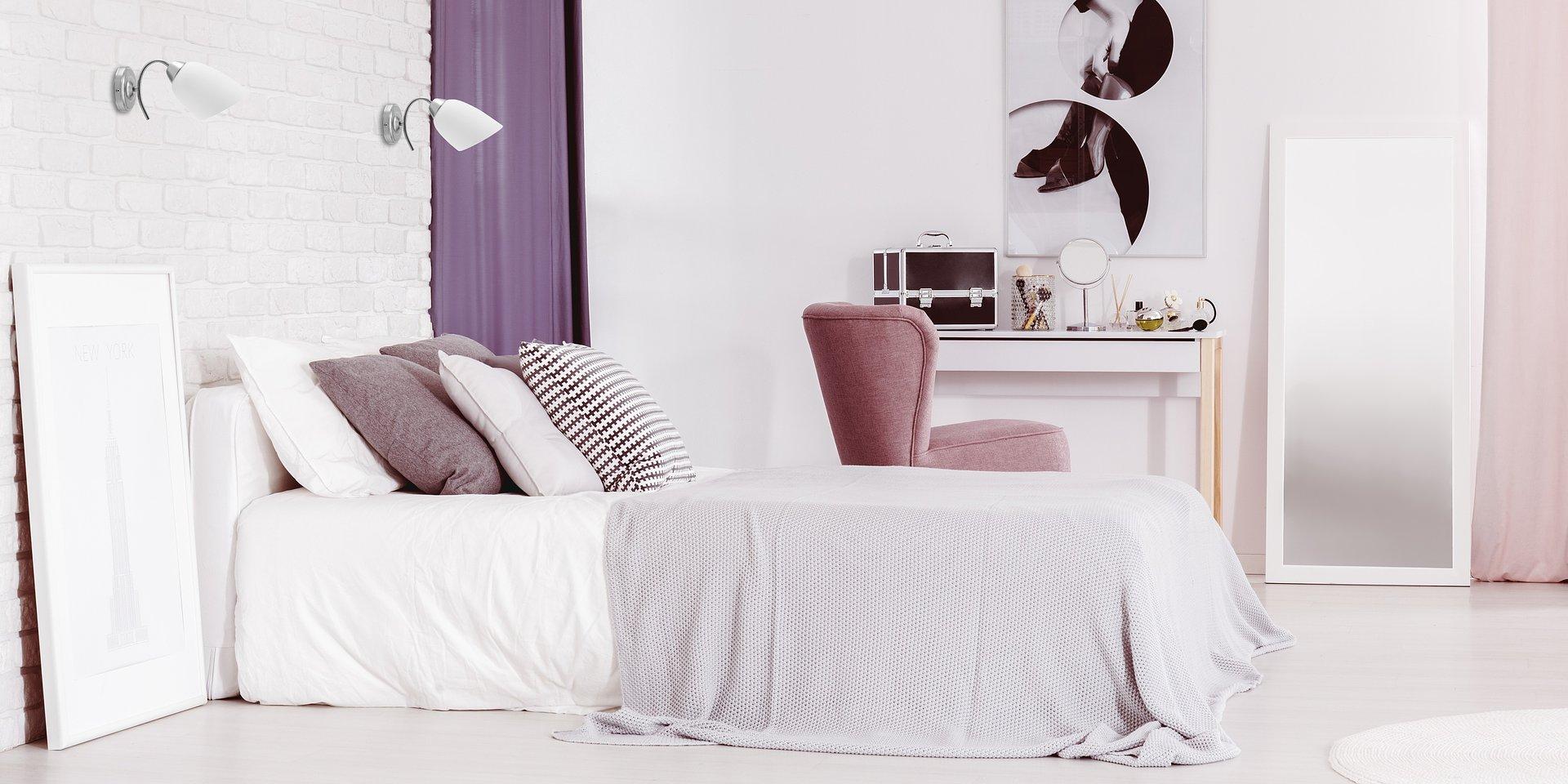 Zaaranżuj nowoczesną sypialnię