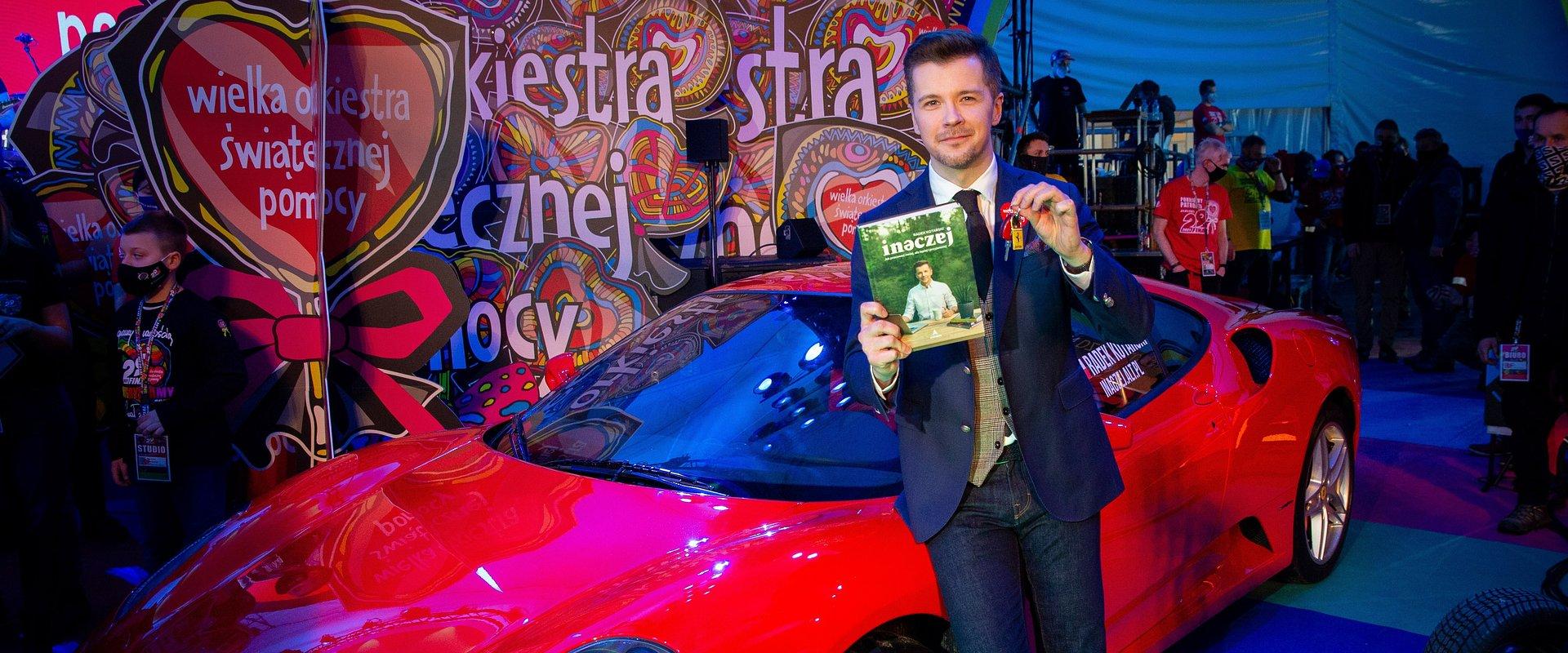 Radek Kotarski na Akademii Sztuk Przepięknych