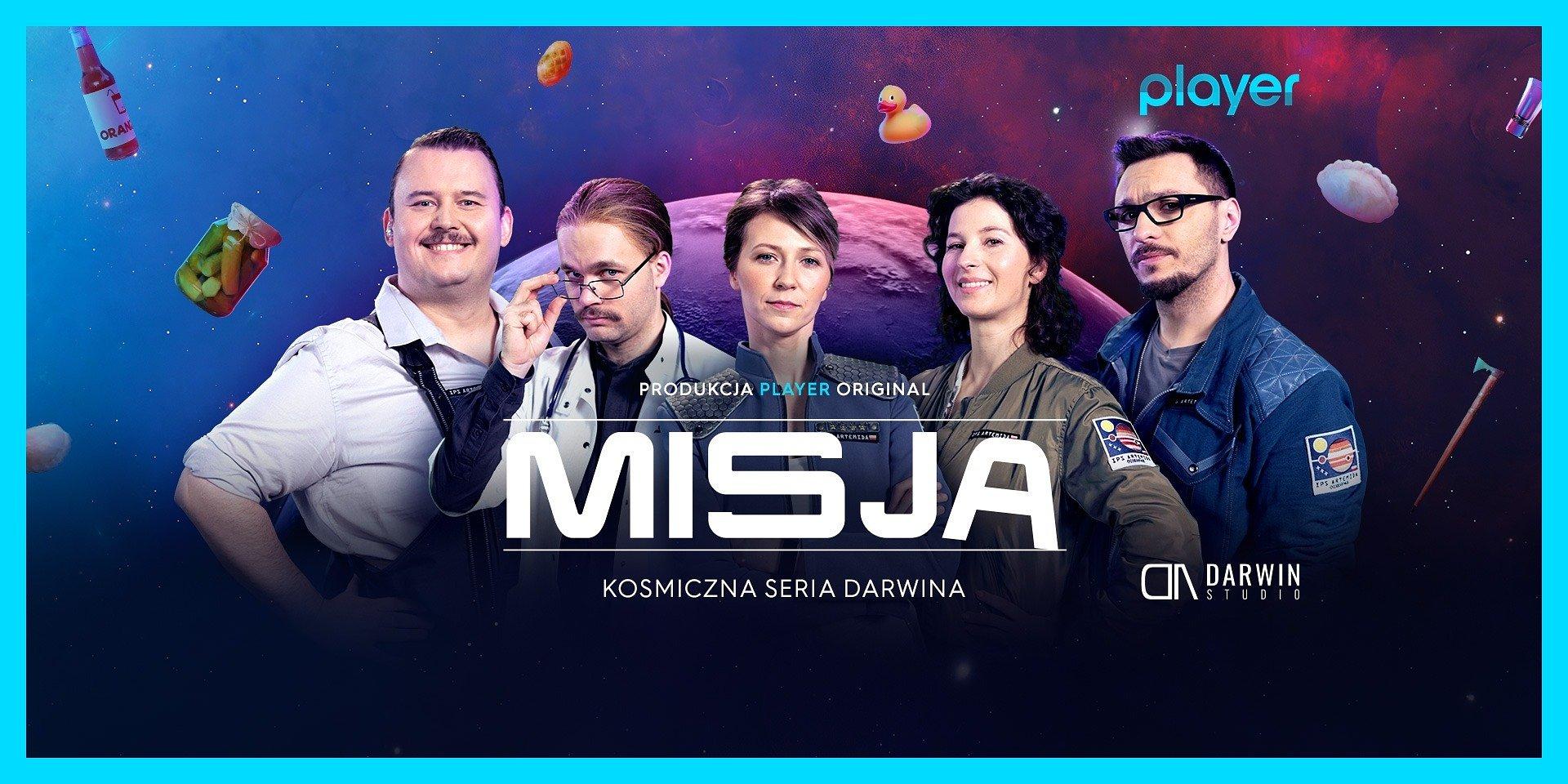 """""""Misja"""": poznaj bohaterów nowej kosmicznej serii Darwina!"""