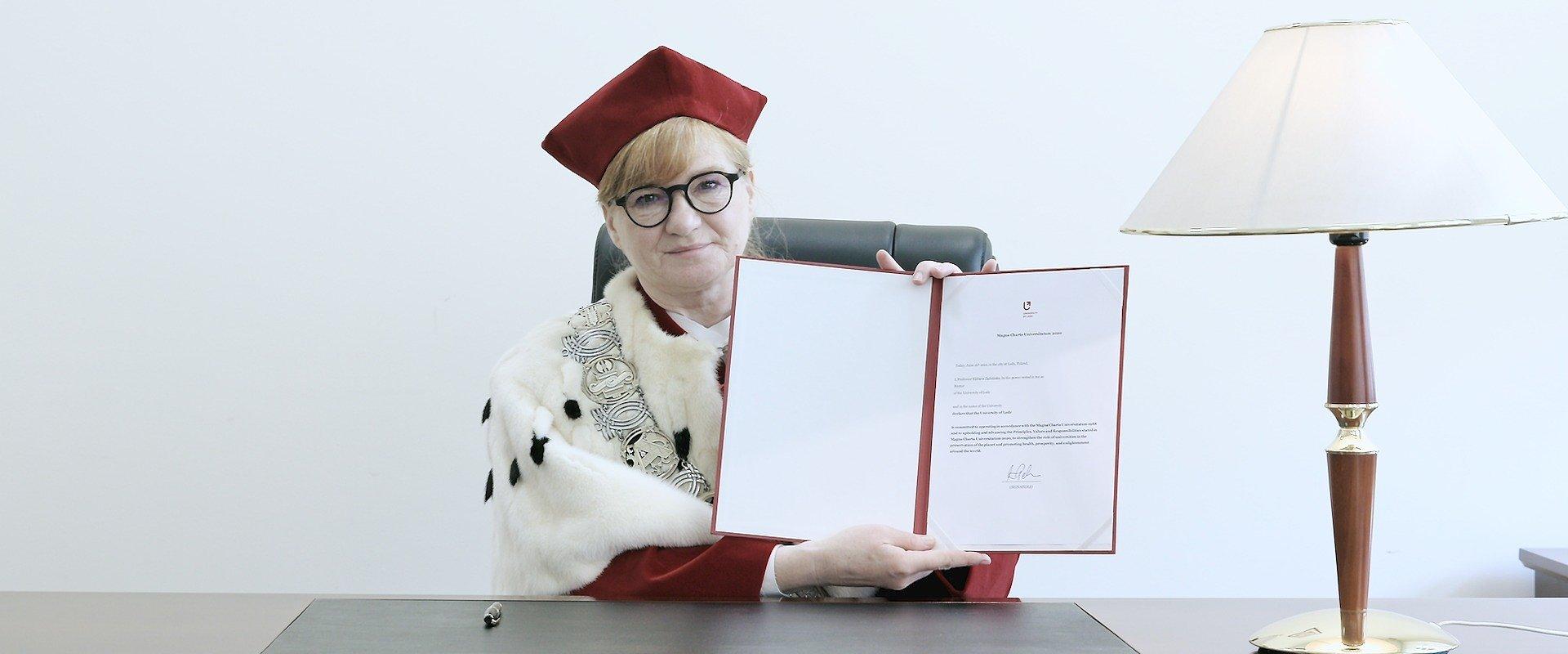 Uniwersytet Łódzki potwierdził Magna Charta Universitatum