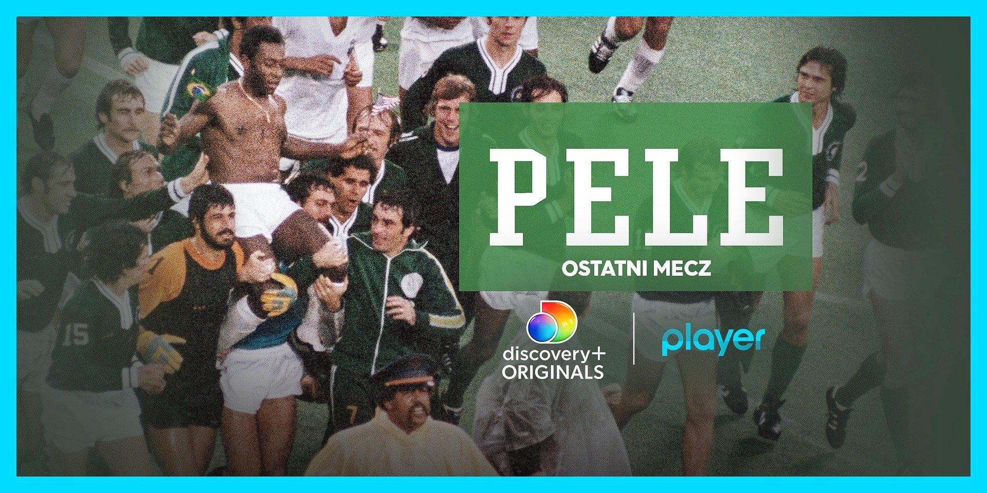 """""""Pele: ostatni mecz"""" i kolekcja dokumentów discovery+ Originals o piłce nożnej – tylko na Playerze!"""