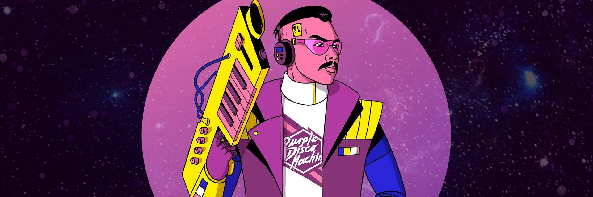 """Purple Disco Machine powraca z nowym klubowym hitem """"Playbox"""""""