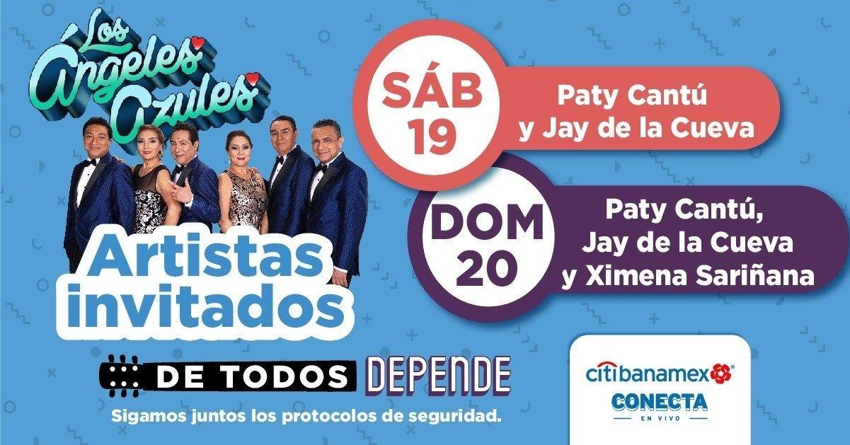 Los Ángeles Azules se encuentran listos para su regreso a los escenarios de la CDMX y con invitados de lujo