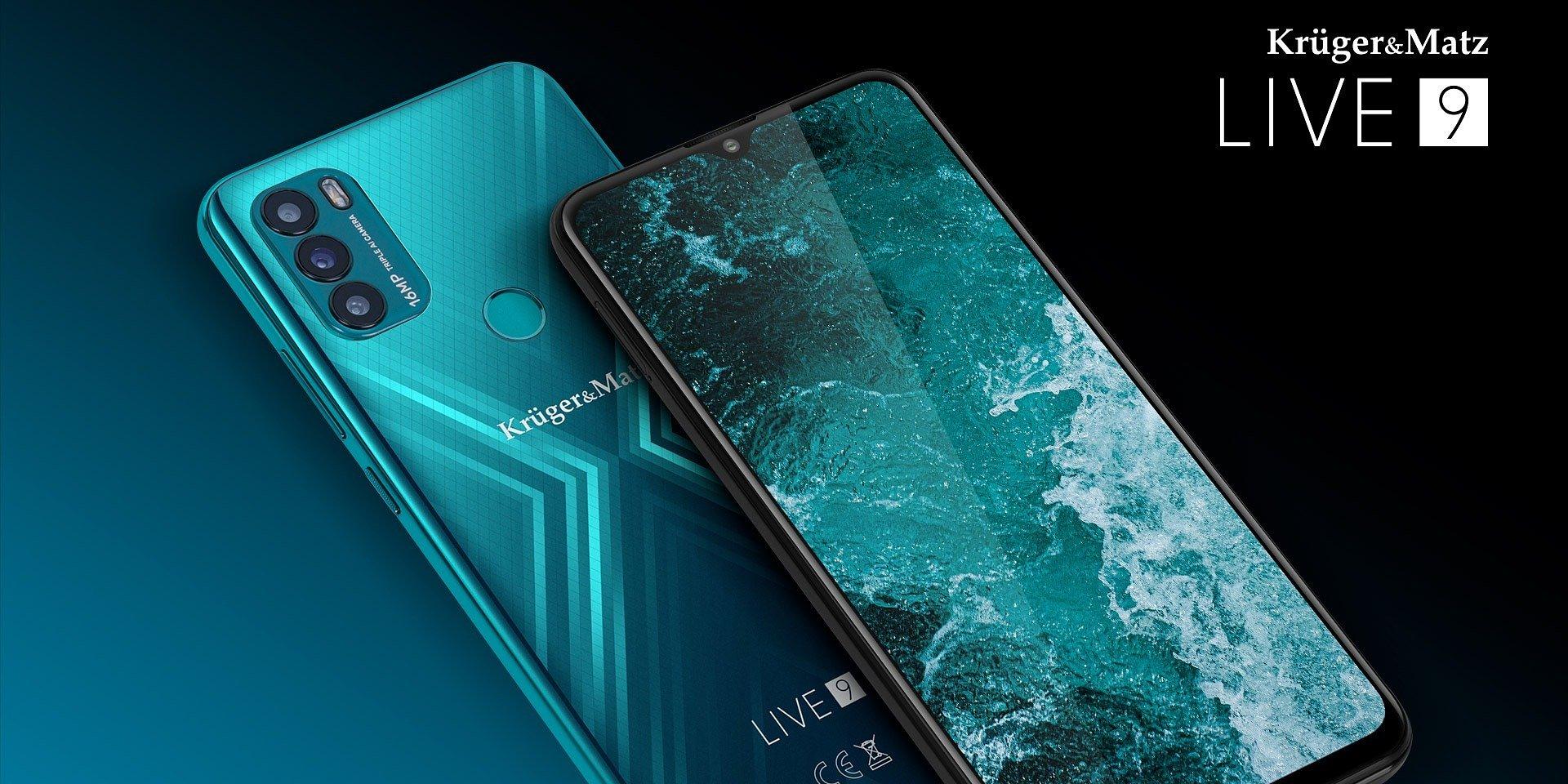 Dziewiąta odsłona smartfona Kruger&Matz LIVE