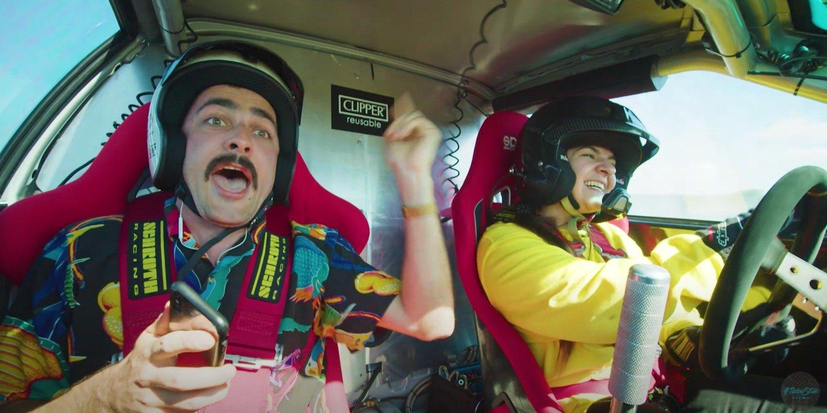 Drift and Sing - gwiazdy zaśpiewają driftując na Torze Jastrząb