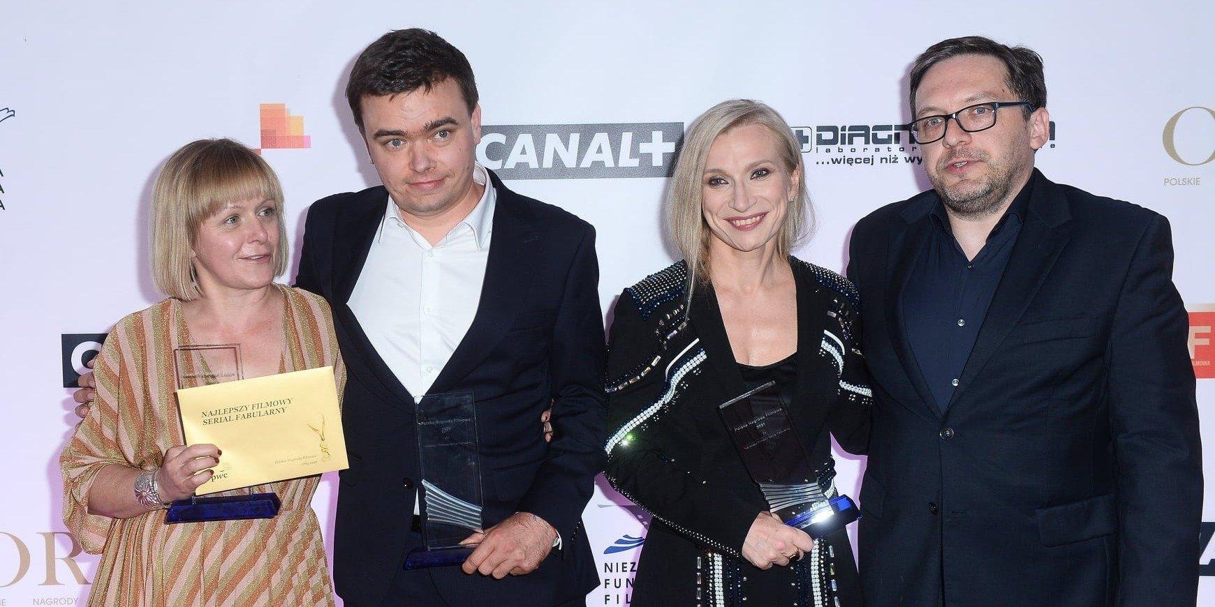Laureaci 23. Polskich Nagród Filmowych Orły - KRÓL najlepszym serialem