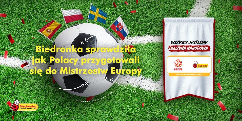 Biedronka sprawdziła jak Polacy przygotowali się do Mistrzostw Europy
