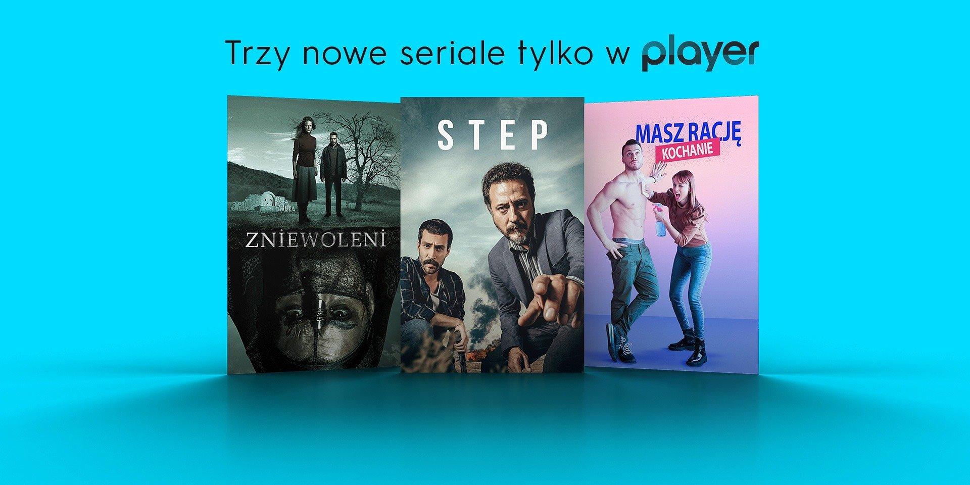 Trzy nowe zagraniczne seriale tylko na Playerze!