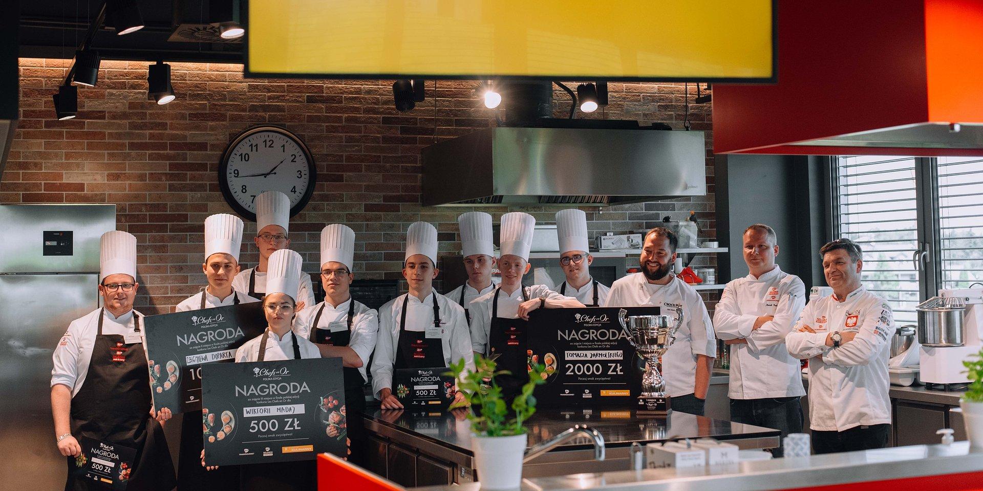 Polska edycja konkursu Les Chefs en Or rozstrzygnięta!
