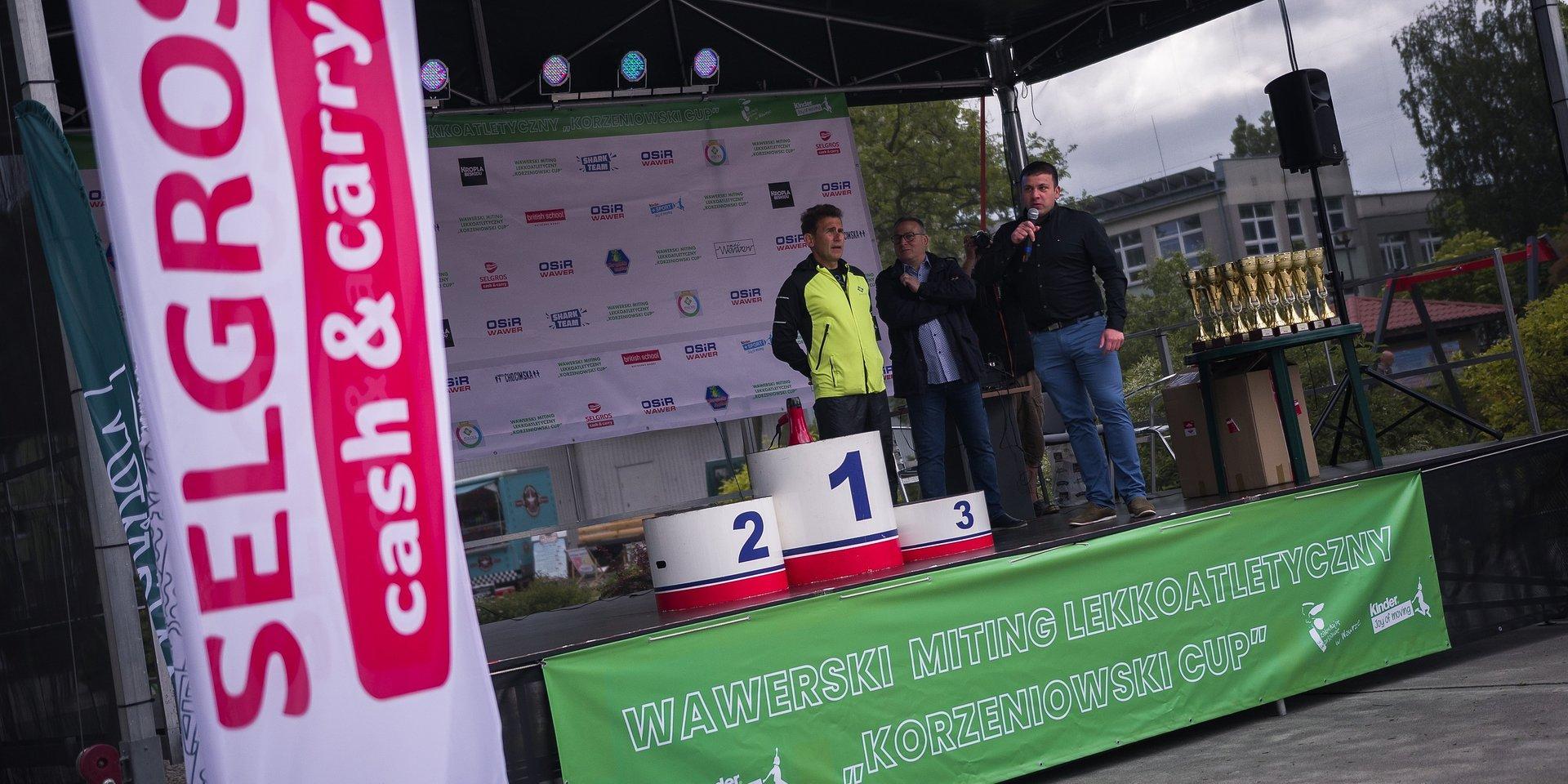 """Selgros Cash & Carry sponsorem Wawerskiego Mitingu Lekkoatletycznego """"Korzeniowski Cup"""""""