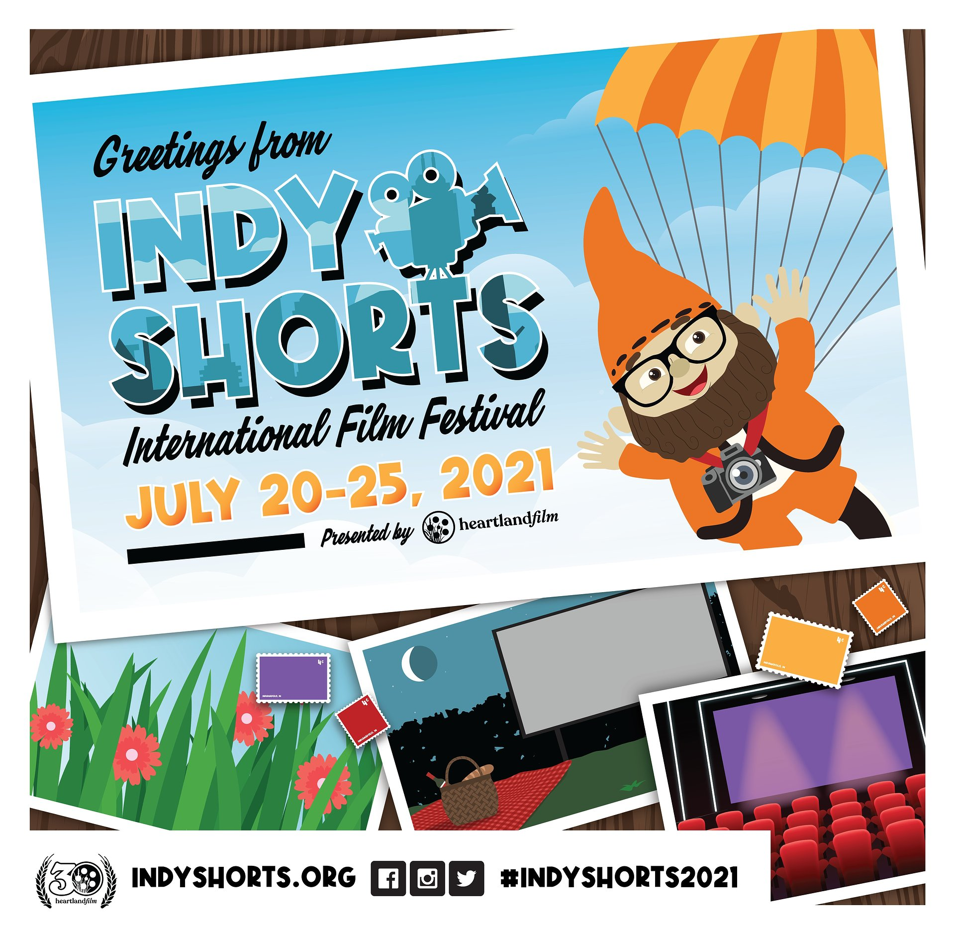 Academy Award®-Qualifying Indy Shorts International Film Festival Announces Largest Slate of Short Films Showcased at Indoor, Outdoor and Virtual Screenings
