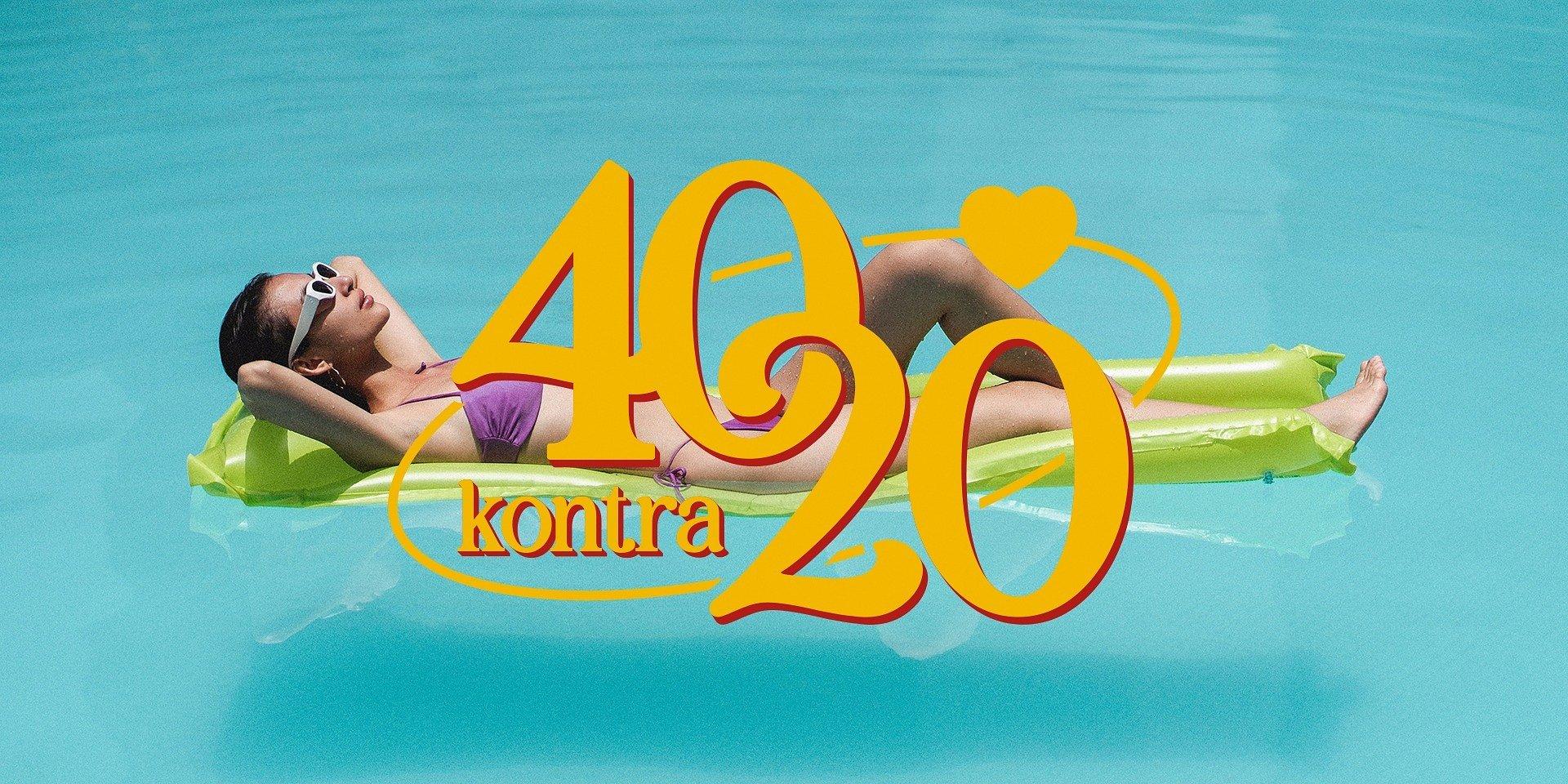 """""""40 kontra 20"""": premiera już dziś o 20:00 na antenie TVN7! Przedstawiamy wszystkich uczestników."""