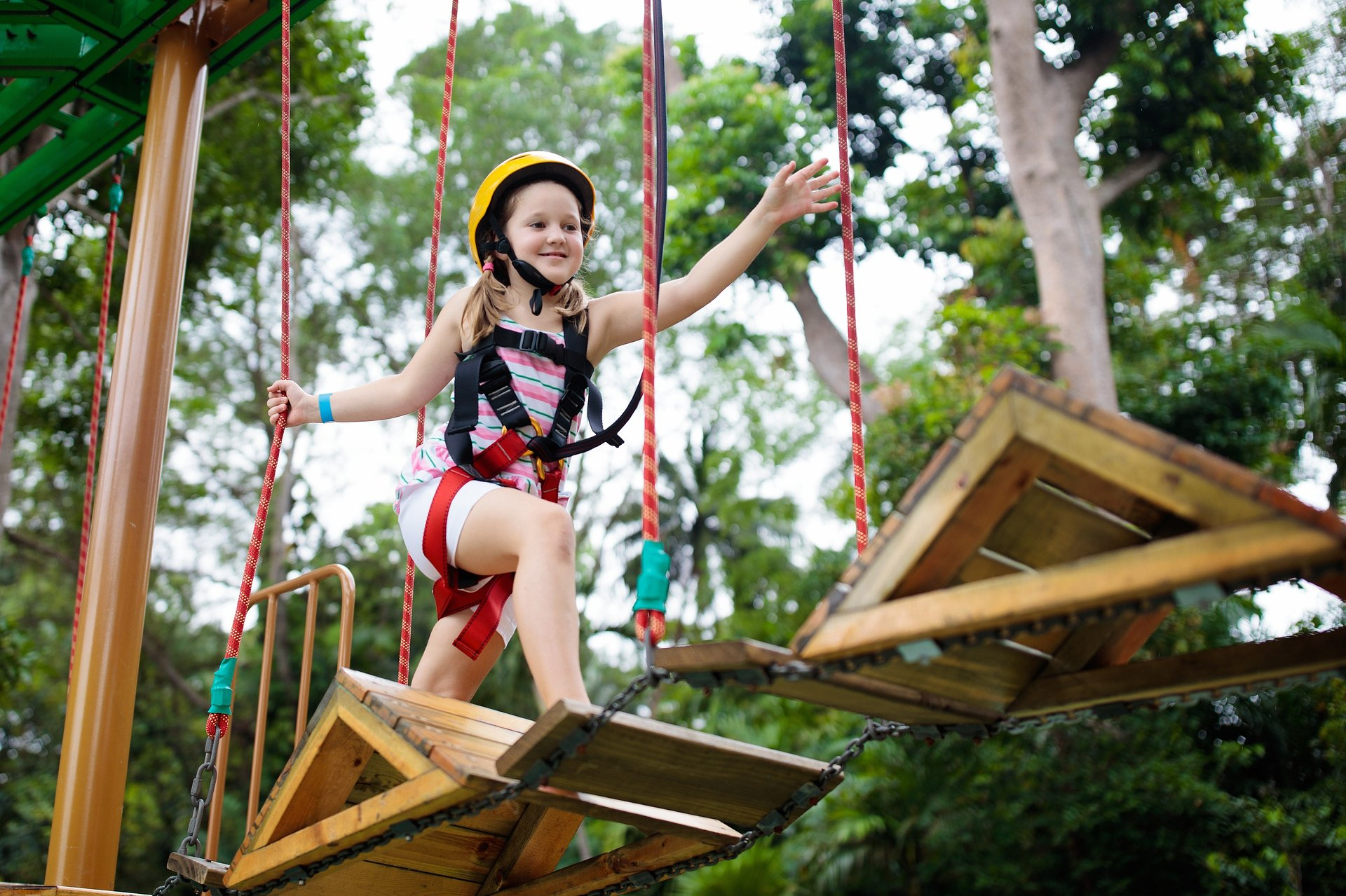 The summer physical activity of children is a task for parents