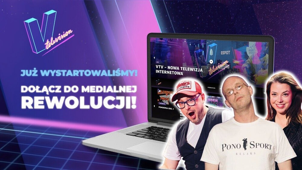 Dołącz do rewolucji w mediach gamingowych i twórz telewizję przyszłości razem z PONO!