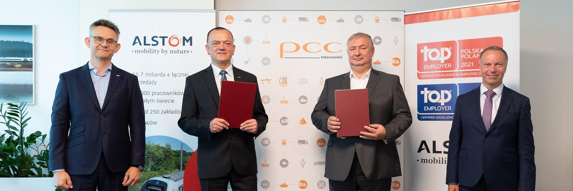 PCC Intermodal inwestuje w cztery lokomotywy elektryczne Traxx od Alstom